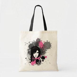 Emo Style Tote Bag