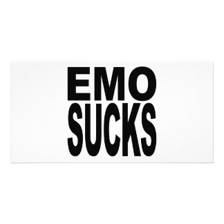 Emo Sucks Card