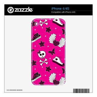 Emo Symbols iPhone 4S Decal