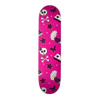 Emo Symbols Skate Board Deck