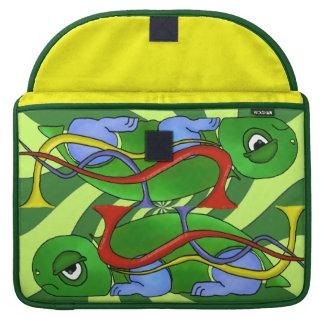 Emo Tortoise Macbook Pro 15 inch Rickshaw Sleeve