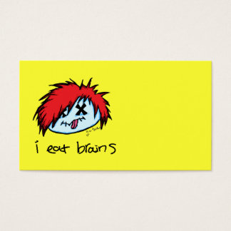 Emo Zombie Business Card