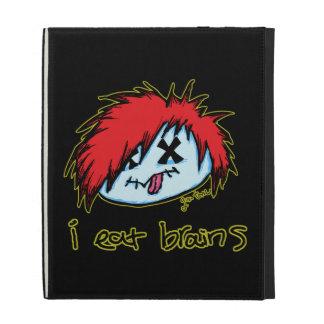 Emo Zombie (on dark backround) iPad Folio Covers