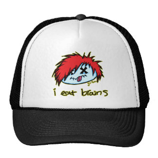 Emo Zombie (on dark backround) Mesh Hats
