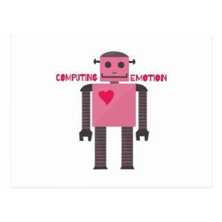 Emoción computacional tarjetas postales