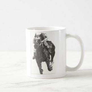 Emoción del caballo Raceing Taza Clásica