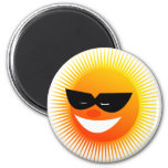 emoción del sol iman para frigorífico