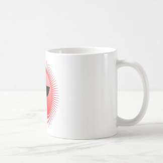 emoción del sol tazas de café