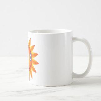 emoción del sol taza de café