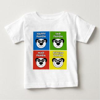 Emociones de la panda playera de bebé