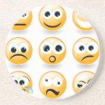 Emociones para cada día posavasos personalizados