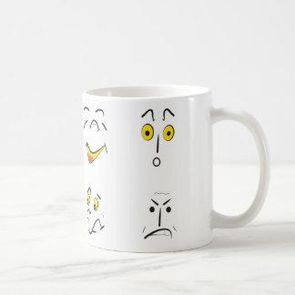 emociones taza básica blanca