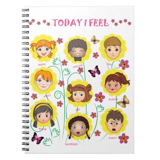 Emociones y sensaciones cuadernos