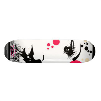 EMODEADGIRL collection skateboard <3