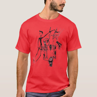 emodragon red turn off the stars T-Shirt