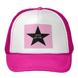 emogirltalk cap trucker hat