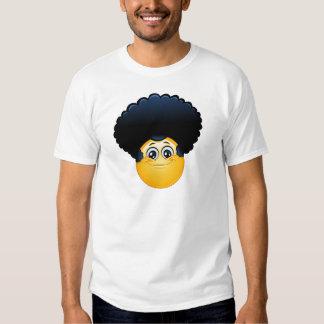 emoji afro playera