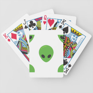 emoji aliens bicycle playing cards