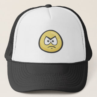 Emoji: Angry Face Trucker Hat