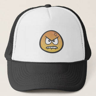 Emoji: Angry Pouting Face Trucker Hat