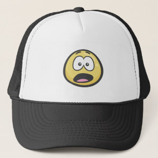 Emoji: Anguished Face Trucker Hat