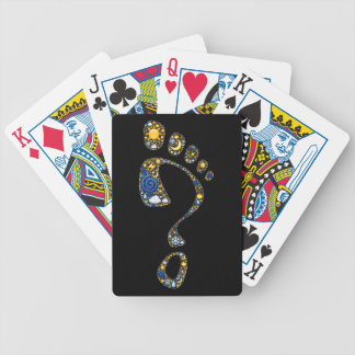 Emoji art: the mysterious nature of being alive bicycle playing cards