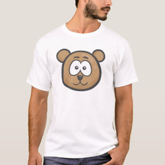 Emoji: Bear Face T-Shirt
