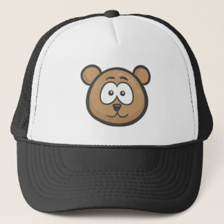 Emoji: Bear Face Trucker Hat