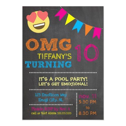 Emoji Birthday Invitation