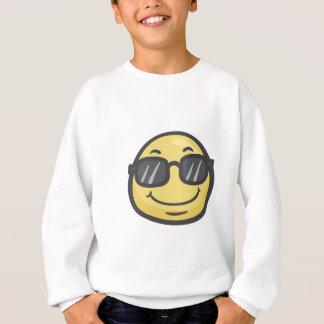 Emoji: Cara sonriente con las gafas de sol Sudadera