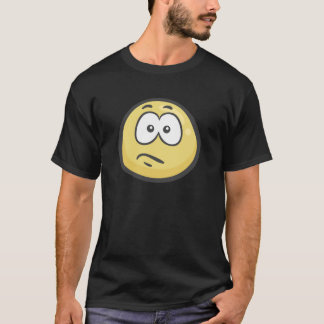 Emoji: Confused Face T-Shirt