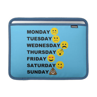 Emoji Days MacBook Air Sleeve