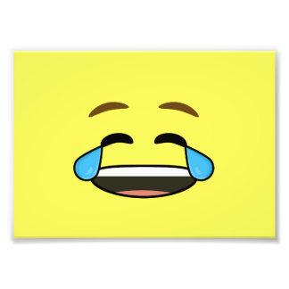 Emoji de risa fotografía
