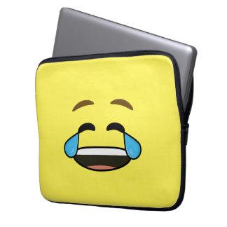 Emoji de risa funda ordendadores