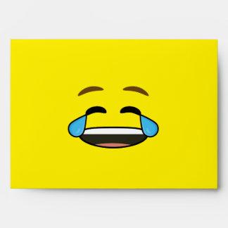 Emoji de risa sobres