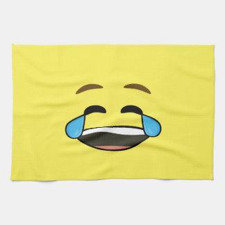 Emoji de risa toallas