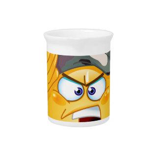 emoji del ejército jarras de beber