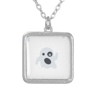 emoji del fantasma colgante cuadrado