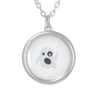 emoji del fantasma colgante redondo