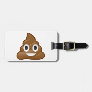 Emoji del impulso etiquetas para maletas