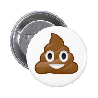 Emoji del impulso pin redondo de 2 pulgadas