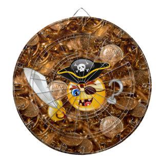 emoji del pirata del tesoro