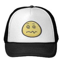 Emoji: Dizzy Face Trucker Hat