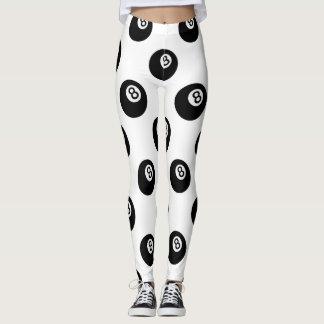 emoji eight ball leggings