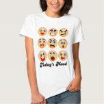 emoji,emoticon, today's mood,mood swing? t shirt