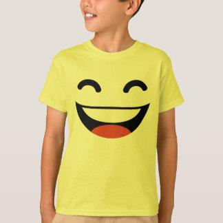 Emoji estupendo de la sonrisa playera