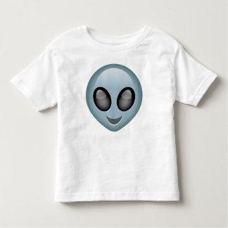Emoji extranjero extraterrestre playera de bebé
