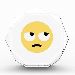 How to make an eye roll emoji on keyboard