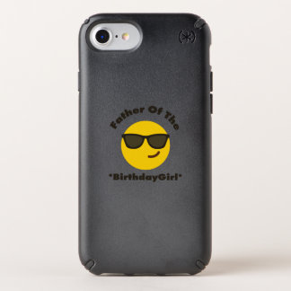Emoji  Father Of The Birthday Girl Gift Party Speck iPhone Case