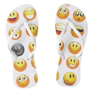 emoji flip flops sandals shoes